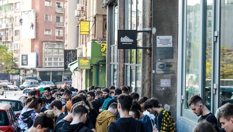 Footshop zamířil do Bukurešti. Proč? Protože proč ne