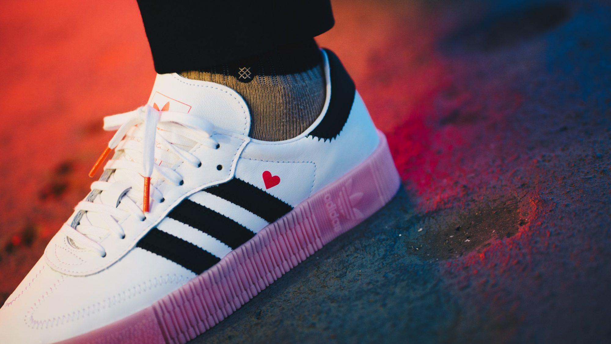 Romantická valentýnka v režii tří proužků: adidas Valentine's Pack
