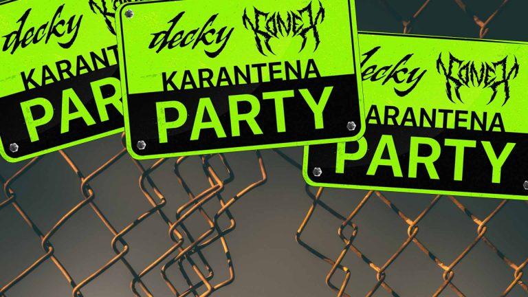 Decky a Konex dnes odstartují Karantena Party. Kdo všechno se na EP objeví?