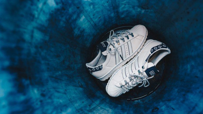 Hvězda mezi Superstary: Footshop x adidas Superstar 'Blueprinting'