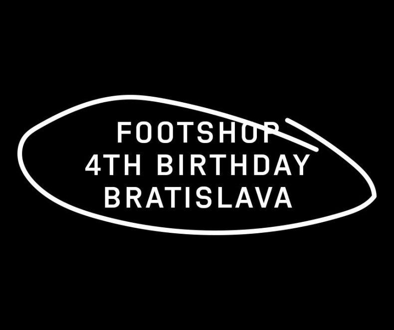 Bratislavská predajňa Footshopu oslavuje 4 roky
