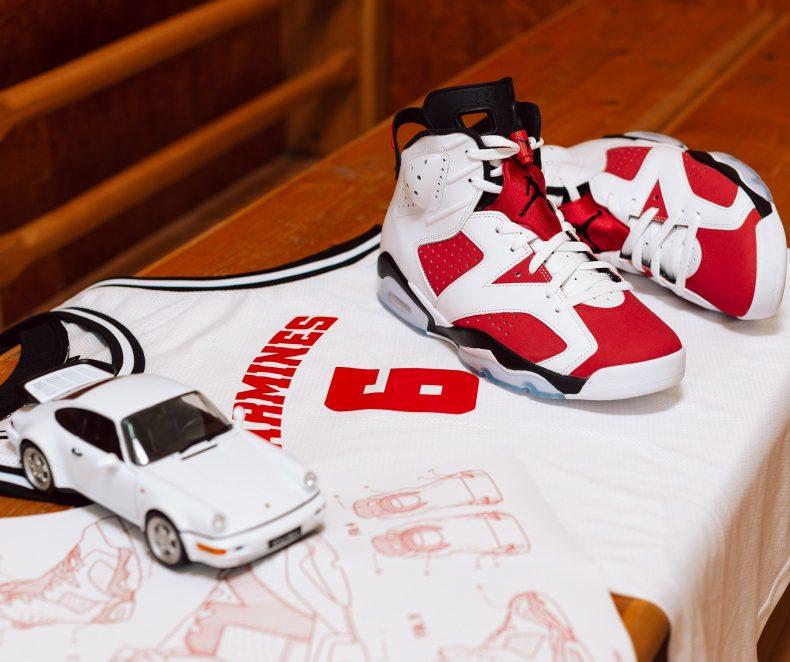 Soutěž o special box Air Jordan 6 Carmine