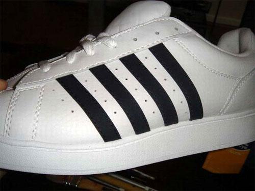 adidas shoes fake