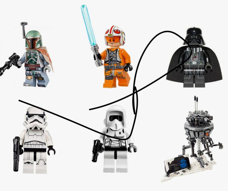 Star Wars Day slavíme inspirací kultovními LEGO kousky
