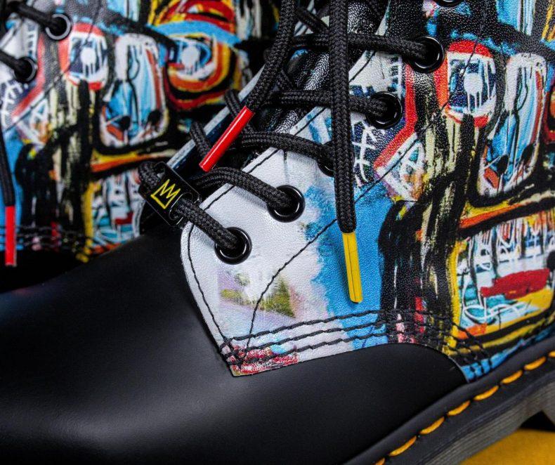Obuj ikonické umění ze spolupráce Dr. Martens x Basquiat
