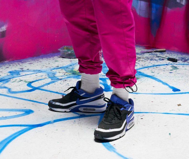 Z rohu do středu sálu. Původní provedení Nike Air Max BW je zpět po 30 letech