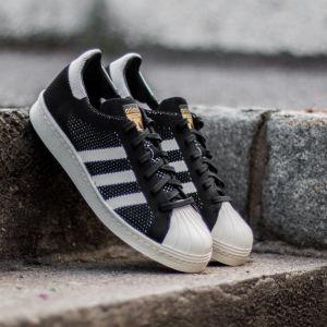 adidas Superstar 80s Primeknit Core Black/ Ftw White/ Gold Metal