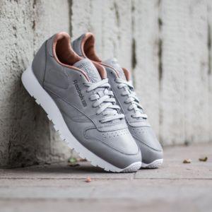 Reebok Clasic Leather PN Tin Grey/ White