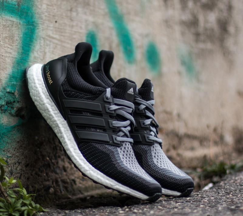 adidas Ultra Boost M Black/ Grey