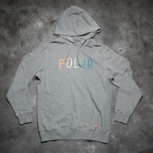 Poler Furry Font Hoodie Heather Grey