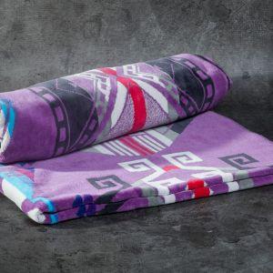 Pendleton Purple Hills Jacquard Beach Towel Lilac