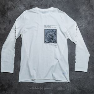 STAMPD Destination Long Sleeve Tee Off White