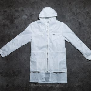 STAMPD Layered Nylon Jacket White