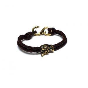 Icon Brand Enter The Dragon Bracelet Brown