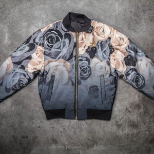 Puma X Careaux Reversible Bomber Puma Black-Flower AOP Jacket
