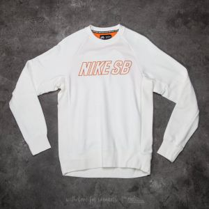 Nike SB Everett Reveal Crew White/ Bright Mango