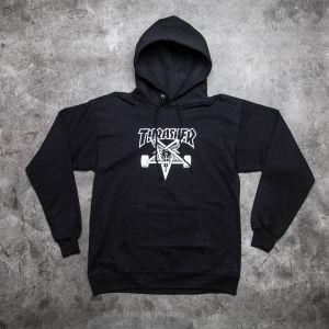 Thrasher Skategoat Hood Black